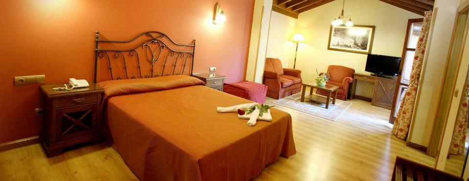 Habitaciones del Hotel Imperion, espaciosas y bellamente decoradas